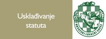 Usklađivanje statuta